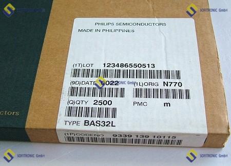 PIN 115 30V SOD-323 0.1A Part # BAP65-03 5 x DIODO